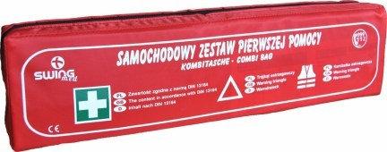 Samochodowy zestaw pierwszej pomocy/SUPER BAG/DIN 13164 PLUS
