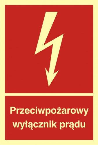 Przeciwpożarowy wyłącznik prądu