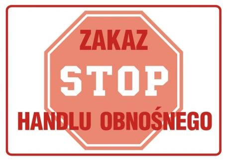 Zakaz handlu obnośnego