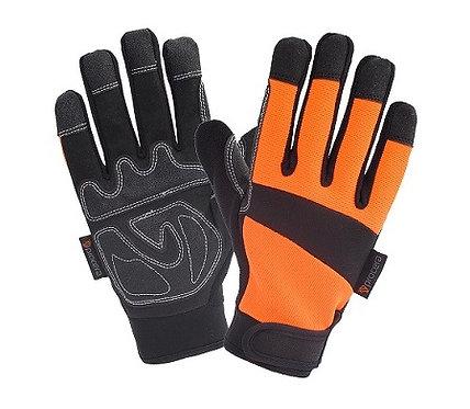 Rękawice X-ACTIVE ze skóry syntetycznej i spandexu