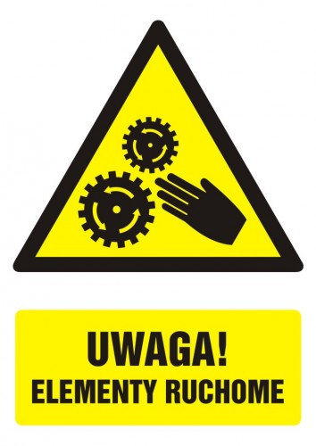 Uwaga ! Elementy ruchome