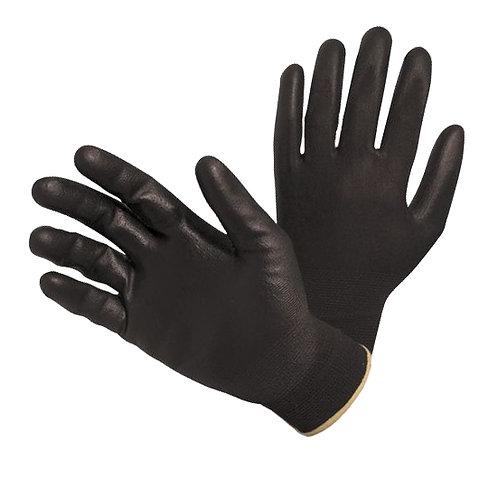 Rękawice powlekane czarnym poliuretanem
