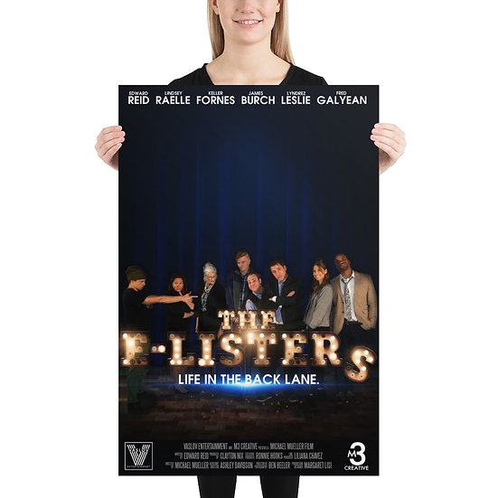 The Official E-Lister Movie Poster