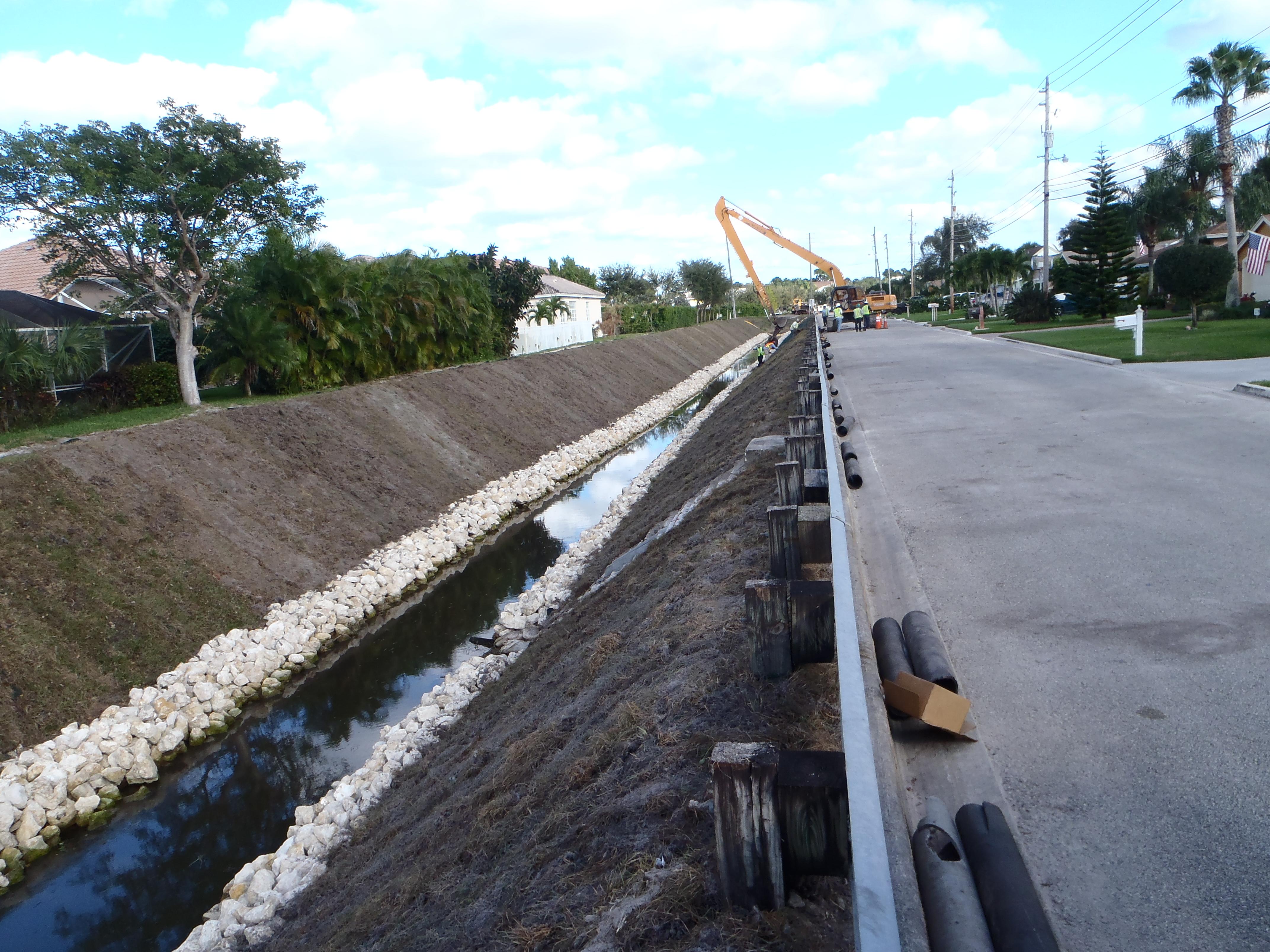 NPBHWCD NC-5 Canal Repair
