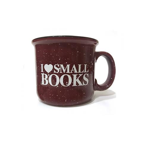 I (Heart) Small Books Camper Mug