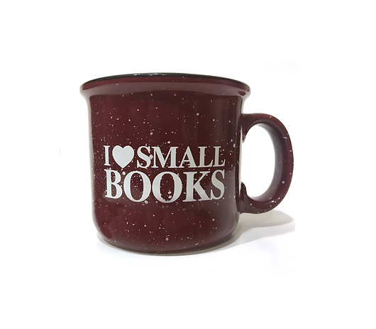 I (Heart) Small Books Camper Mug