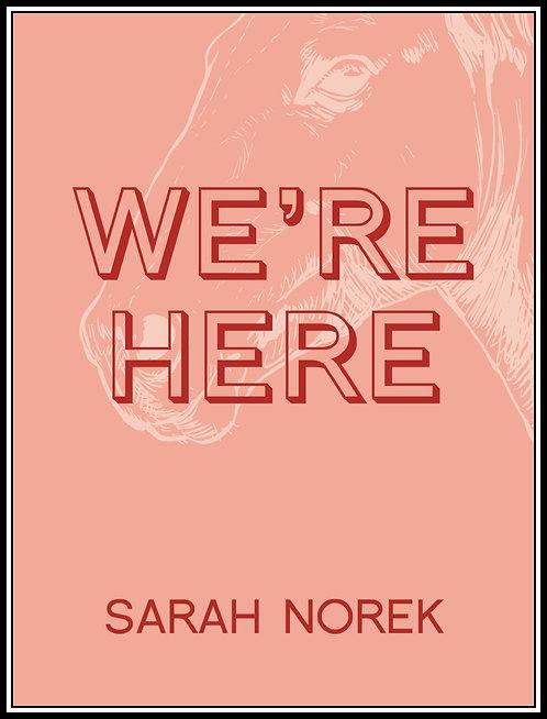 We're Here by Sarah Norek