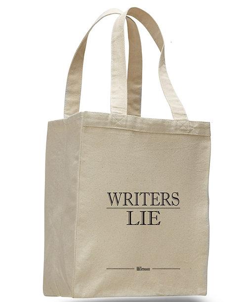 'Writers Lie' Tote Bag