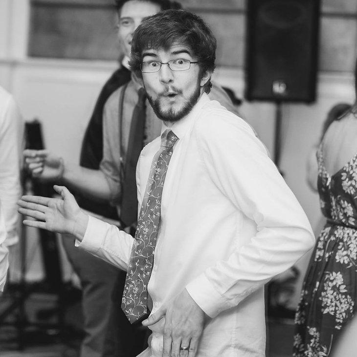Luke Webster, drummer and drum teacher