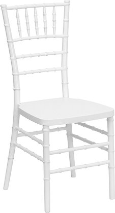 Chair, Chiavari White $7.00 each