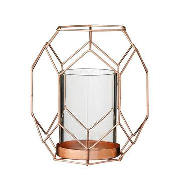 Candle Holder, Geo Stand Copper $8.00 each