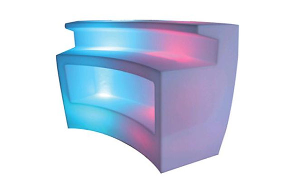 Bar, Curve (white) LED, $185 each