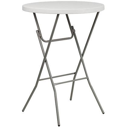 "Table, Cocktail Plastic (32"" diameter) $11.00 each"