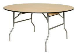 "Table, 6' Round (72"" diameter) $14.75"
