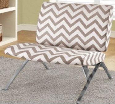 FOR SALE: Parson Chair, Chevron $240 each ( 4 available)
