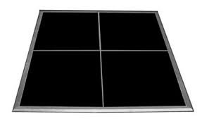 Dancefloor, 4'x4' tiles black $34 per panel