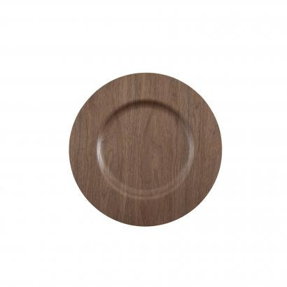 Charger Plate, Walnut  $1.75 each