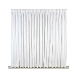 8' Banjo Drape, white $5.75 per linear foot