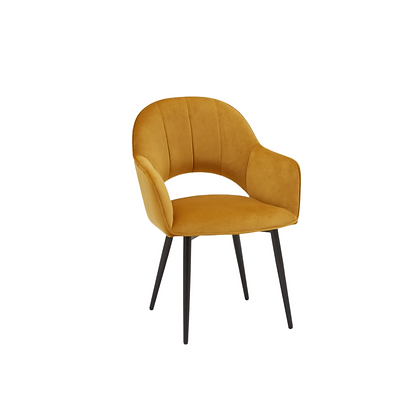 Sophia Lounge Chair, Mustard, $25 each