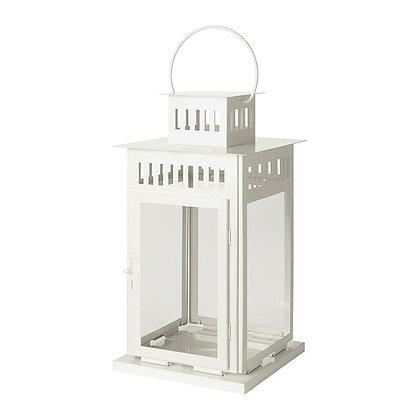 Lantern, White Small $4.75 each