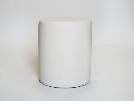 White round ottoman, $26.50 each