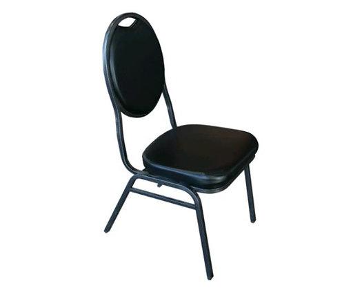 Chair, Banquet Stacking Black, $4.50 each.