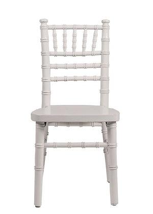Chair, Childrens Chiavari White $5.00