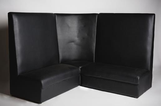 Black Aria Sofa (FOR SALE)