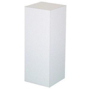 """Pedestal, white 42""""H, $47.70 each"""