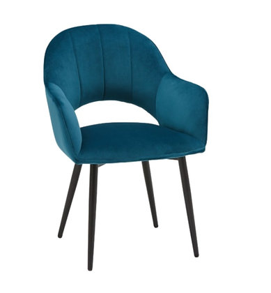 Sophia Accent Chair, Blue