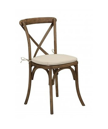 Chair, Rustic Crossback $8.00 each