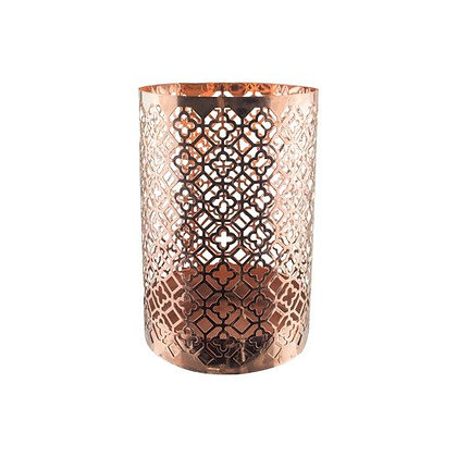 Vase, Keyhole Copper (small) (FOR SALE)