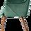Thumbnail: Bella, side chair (emerald)