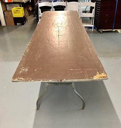 "8'x 30"" Festival Table (SALE ONLY)"