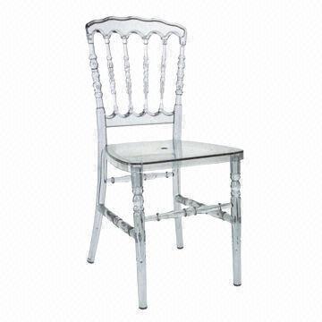 Chair, Napoleon Clear $7.00 each