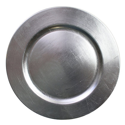 Charger Plate, Silver (FOR SALE)