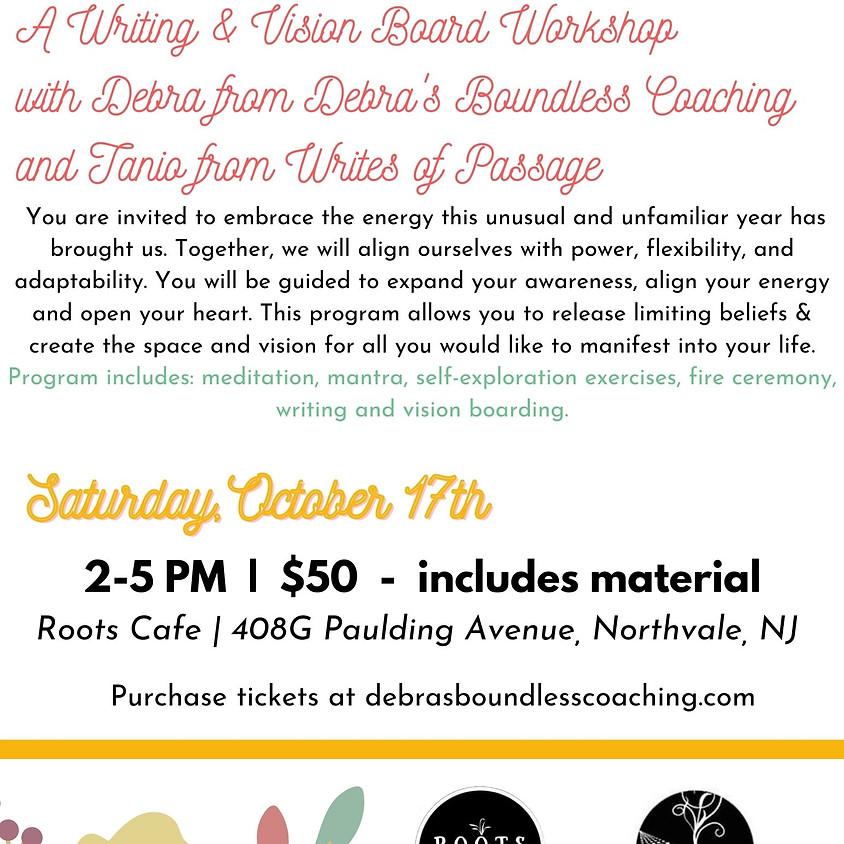 Writing & Vision Board Workshop