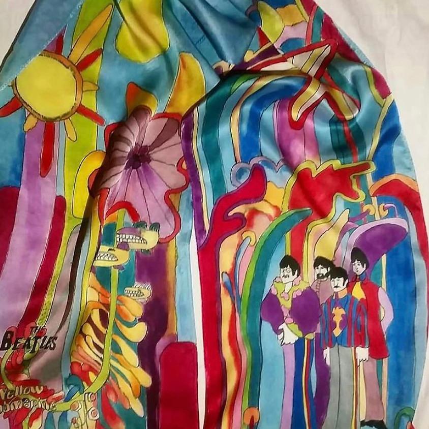 Create Space Sundays - February 21st: Silk Scarf Painting with Seda