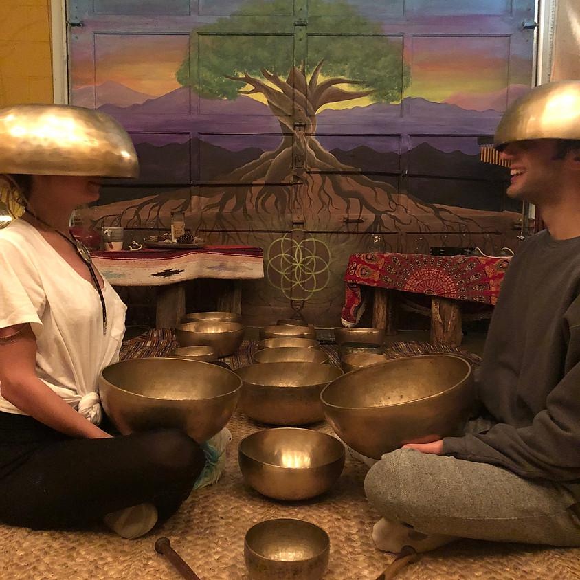 Sound Bath with Sound Massage