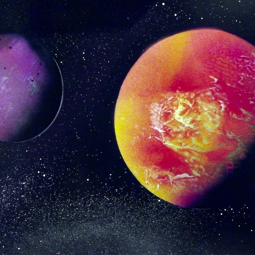 Create Space Sundays - MAY 16TH: SPRAY-PAINTING GALAXIES WITH JIM GALATI
