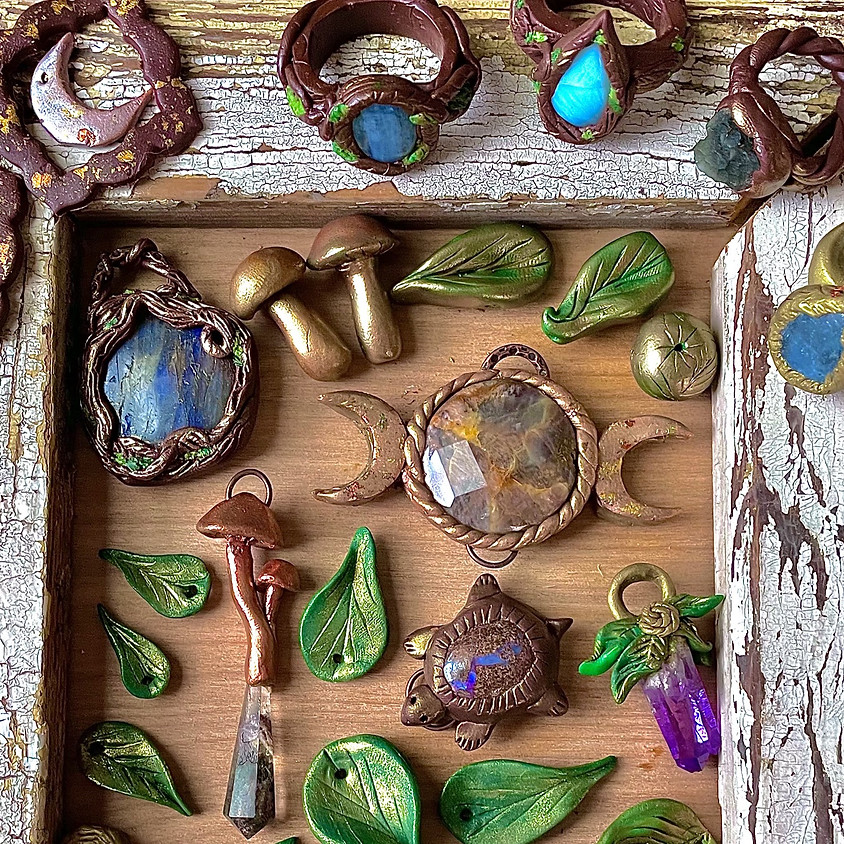 Create Space Sundays - MAY 9TH: JEWELRY-MAKING WITH MORGAN ZELMER