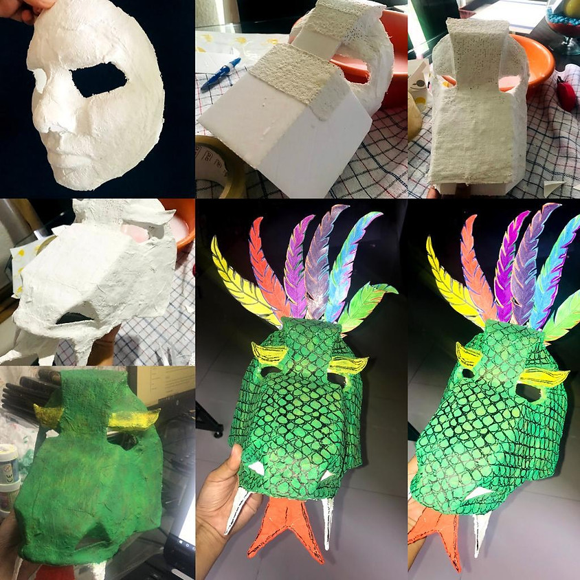 Create Space Sundays - March 28th: ANIMAL GUIDE MASK-MAKING WITH MILENA