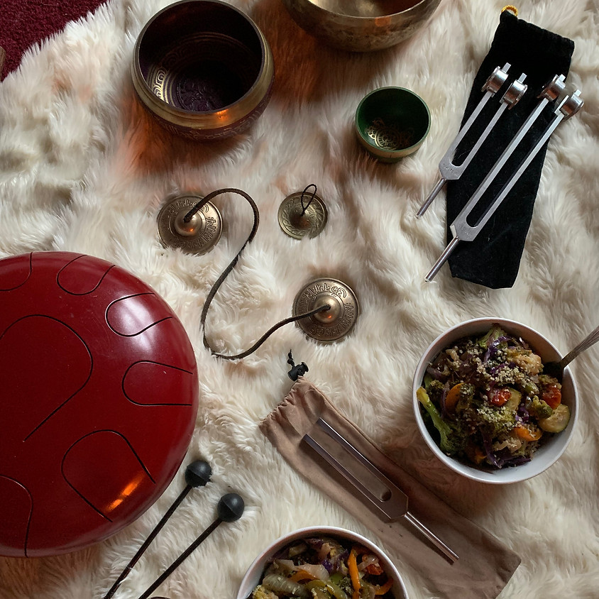 SoundBites: A Mindful Eating and Sound Healing Experience