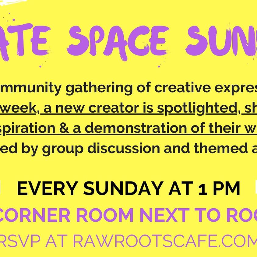Create Space Sundays