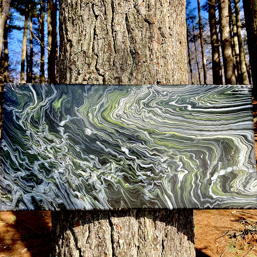 Create Space Sundays - APRIL 25TH: FLUID ART POUR PAINTING WITH MIKE MURPHY