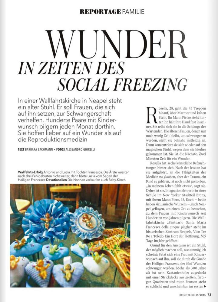 Wunder in Zeiten von Social Freezing
