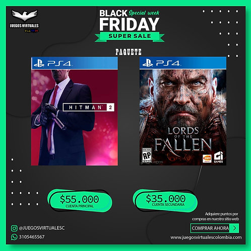 HITMAN 2 + LORDS OF THE FALLEN