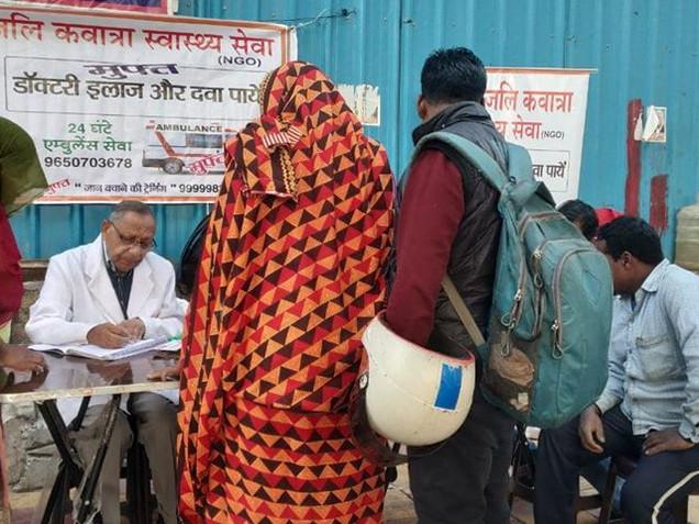 Free medicine distribution drive, New Delhi
