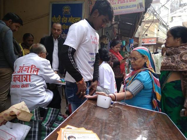 Health Camp, New Delhi