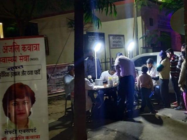 Evening Health Check-Up Camp, New Delhi